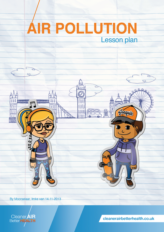 JOAQUIN air pollution lesson package