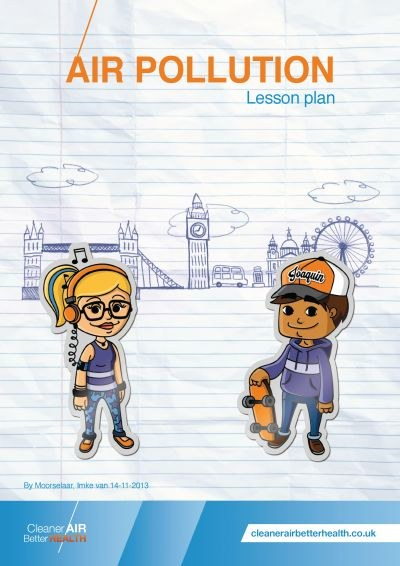 Air pollution lesson plan